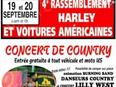 foto di 4 eme RASSEMBLEMENT HARLEY DAVIDSON ET VOITURES AMERICAINES